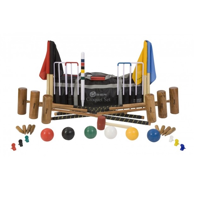 6 Player Pro Croquet Set