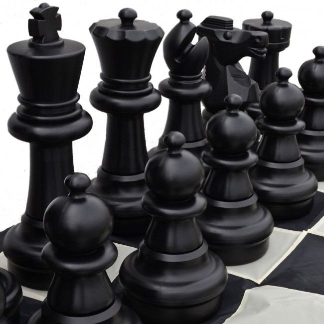 Plastic Giant Chess Set 60cm
