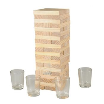 Drunken Tower Tumbling Block Drinking Game