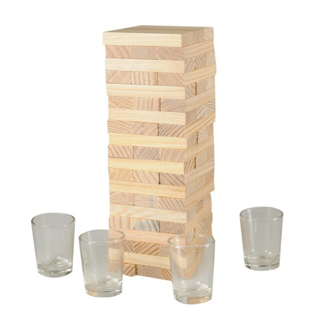 Tumbling Tower Drinking Game