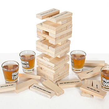 Drunken Tower Tumbling Block in Play