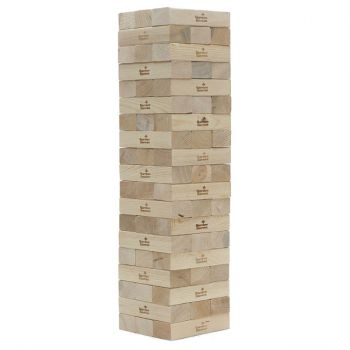 Giant Wooden Block Tower - Tumbling Block Game