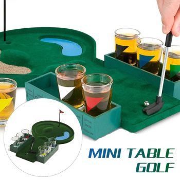 Miniature Golf Drinking Game in Play