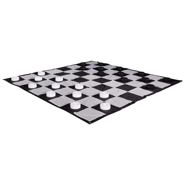 Plastic Giant Checkers Set 3mx3m