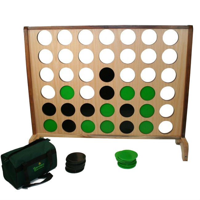 Hardwood Connect Four