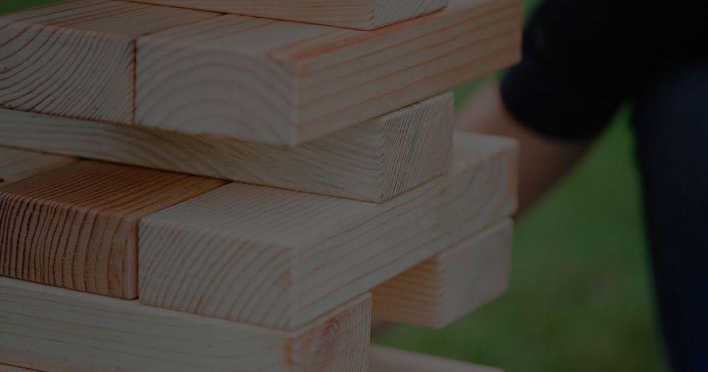 Wooden Outdoor Games