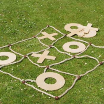 Giant Noughts and Crosses in the Park